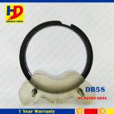 DB58 de hierro fundido el anillo del pistón del motor para la excavadora Doosan Daewoo Kit (65.02503-8058)