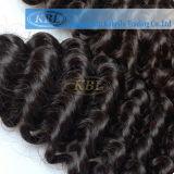 O cabelo brasileiro do Virgin da onda profunda é muito popular