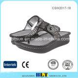 La vente chaude Dansko encrasse des chaussures de santals de femmes d'Alegria