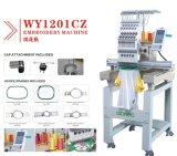 Neuer Tajima konzipiert Stickerei-Maschine mit 12/15 Nadeln für Schutzkappe, T-Shirt, der Sequin und schnürt Stickerei-besten Preis Wy1201CS