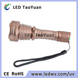 紫外線LED Nichia 365nm LEDの紫外線懐中電燈3W