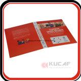 Format A4 4c de l'impression classeur à anneaux en carton dur Dossier de fichiers