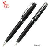 Nouvelle arrivée d'entreprise de promotion de métal Pen Stylo à bille noir pour Office
