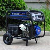Nuovo tipo generatore portatile 3kv del bisonte (Cina) della benzina di uso della casa diplomato Ce del collegare di rame di BS4500e 3kw 3000W