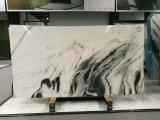 Слябы естественной панды камня Polished белые мраморный с черной веной на сбываниях