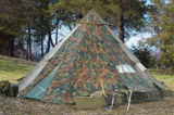 Coton imperméable à l'eau de 420d Oxford, tente campante d'Indien de tente de Bell de famille