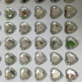 주문품 명확한 아크릴 돌 스티커, 다이아몬드 모조 다이아몬드 스티커