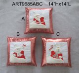 "20 ""H Santa, Snowman et Moose Christmas Decoration Stocking, 3 Asst-"