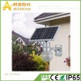 18W LiFePO4 Batterie-romantische Garten-Mond-Beleuchtung-Yard-Lampe