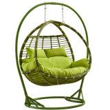 Mobiliário de Jardim Giro Duplo Swing, móveis de vime, cesta de vime (D156)
