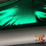 Золото штемпелюя Foiling ткань полиэфира для ткани одежды этапа одежды Foiling