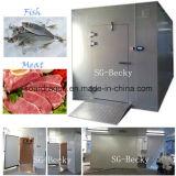 Cella frigorifera di congelamento per carne & i pesci con buon condensando unità