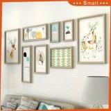 Европейский стиль Multi-Panels корпусной холсте масляной живописи искусства с разными темами