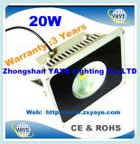 Migliore proiettore di /20W LED del proiettore dell'indicatore luminoso di inondazione della PANNOCCHIA 20W LED di vendita Ce/RoHS di Yaye 18/20W LED con 3 anni di garanzia