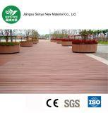 Revestimento de madeira da grão WPC do furo redondo customizável