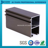 El perfil de aluminio T5 de la protuberancia 6063 para la puerta de la ventana modificó para requisitos particulares