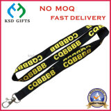 Poliéster Custom bordado / Jacquard / tejido terylene cordón sin MOQ