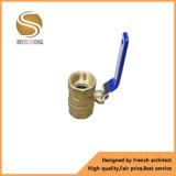 Válvula de bola de latón forjado para el baño