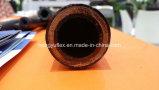 20 anos de mangueira de borracha hidráulica resistente ao calor do RUÍDO En856 4sp/4sh da espiral do fio da fábrica