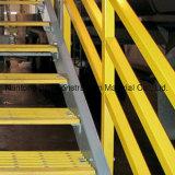 격자판을%s 고강도 FRP/GRP Anti-Slip 산업 층계 Nosings
