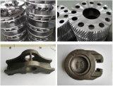 Fusion d'alluminio con i pezzi meccanici di precisione