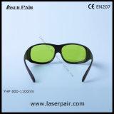 800-1100nmダイオードのレーザーおよびNDのための810nm 980nm 1064nmのレーザーの安全ガラスレーザーの防護眼鏡の高い安全性: フレーム33が付いているYAGのレーザー