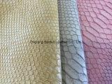 Schlange PU-Leder für Sofa/Möbel/Dame Bag mit Feuerfestigkeit