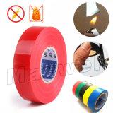 PVC da cor vermelha que suporta a fita adesiva de borracha (130Z)