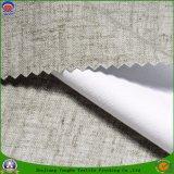 Prodotto impermeabile intessuto tessile domestica della tenda di mancanza di corrente elettrica del poliestere del rivestimento del franco del tessuto del poliestere