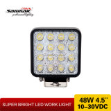 "Wasserdichtes "" Auto-Licht LED-IP68 quadratisches 48W 4"