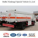 caminhão do depósito de gasolina do euro 4 de 5cbm Isuzu