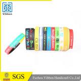 Дешевые персонализированные резиновый браслеты силикона