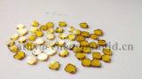 실험실에 의하여 증가되는 산업 다이아몬드 Hpht 다이아몬드 격판덮개 3*3*1mm 4*4*1mm