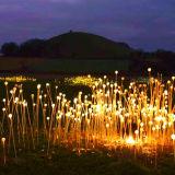 Luzes mágicas da esfera do projeto da luz do jardim do diodo emissor de luz da natureza para a decoração do feriado