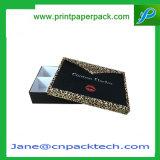 Rectángulo de almacenaje de papel de lujo de encargo del rectángulo de torta del rectángulo de regalo