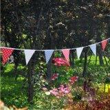 Banderas personalizados Hermosa decoración del partido Triángulo Tela Bunting
