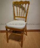 Свадьбу алюминиевый стул Napoleon подушку сиденья для мобильных ПК