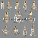 MTX bombillas LED G95 aliento globoso bebé LED del bulbo de Edison de la personalidad creativa de luces decorativas Bombillas 220V 2200K amarillo cálido