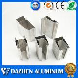 Perfil de alumínio da extrusão da única porta do obturador do rolo da camada com anodizado