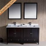 Шкаф ванной комнаты твердой древесины тщеты ванной комнаты Fed-1072c Китая