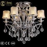贅沢で装飾的な水晶吊り下げ式ライト