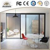Porte coulissante en aluminium personnalisée par fabrication de qualité
