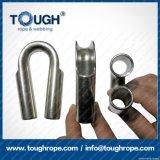 Fibra 100% resistente de Uhwmpe da corda da corda sintética cinzenta do guincho da cor 12mmx30m4X4