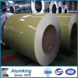 Bobina de aluminio cubierta color para las latas, luz (color sólido) de Ideabond