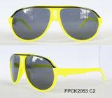 Ce novo FDA UV400 da reunião dos óculos de sol dos miúdos do projeto