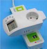Precisión 0,5 grados Plug en controlador de temperatura con la UE, Italia, Francia, EE.UU.