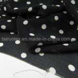 120d de afgedrukte Stof van de Chiffon voor Dame T-Shirt Fabric