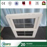 Двойные стекла окна повесил UPVC наружные окна с грилем дизайн