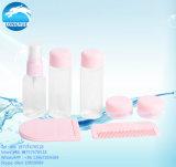 Haustier-freier beweglicher Arbeitsweg-Sahne-Spray-kosmetische Flasche gesetztes 6PCS