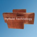 Dissipador de calor Skive cobre para amplificador IGBT